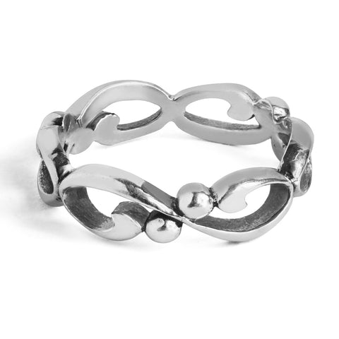 silver-infinity-wedding-band