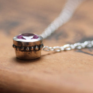 handmade-ethical-Pink-Tourmaline-Gemstone-Bezel-Necklace-02