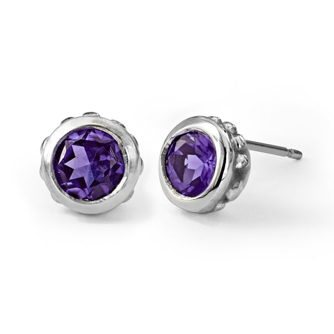 amethyst-birthstone-stud-earrings