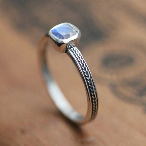 Rainbow moonstone ring-handmade-ethnic2