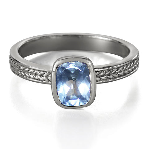 aquamarine-rectangle-cushion-cut-engagement-rings