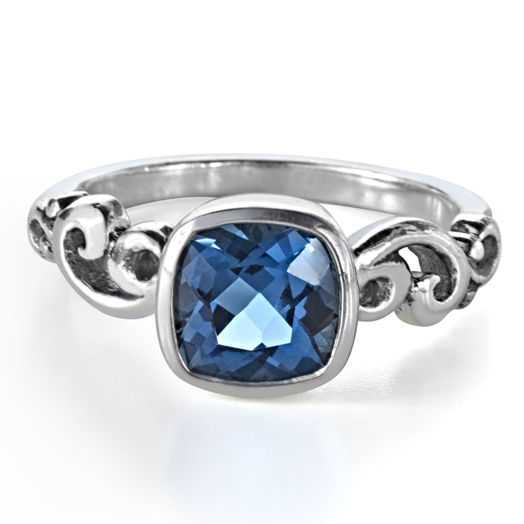 london-blue-topaz-silver-ring