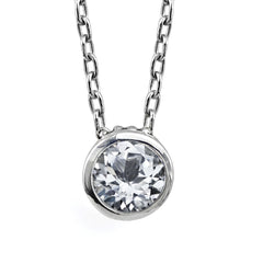 white-topaz-bezel-necklace