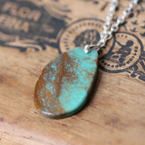 "Campo Frio Turquoise Necklace #1, 17"" length"