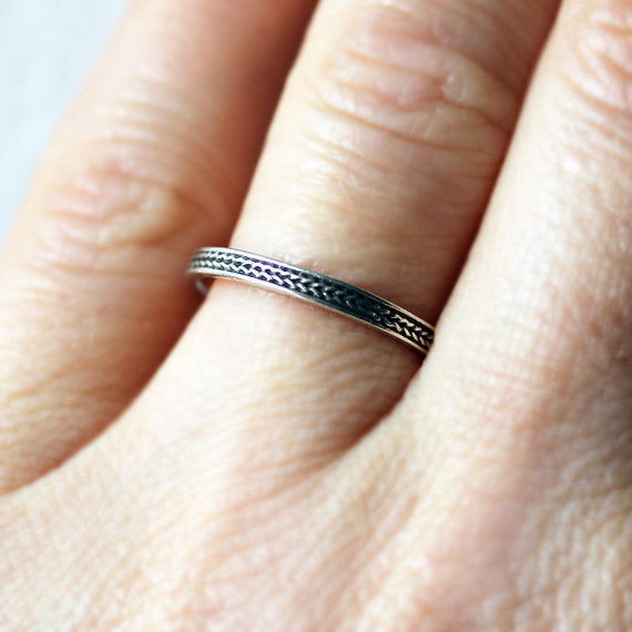 Braided wedding band-handmade-ethnic3