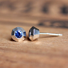 handmade-ethical-Tiny-Modern-Sapphire-Stud-Earrings-03