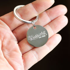 All Warriors Have Scars Breast Cancer Awareness Keychain