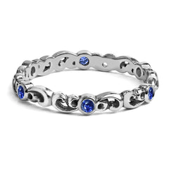 sapphire-eternity-ring-silver