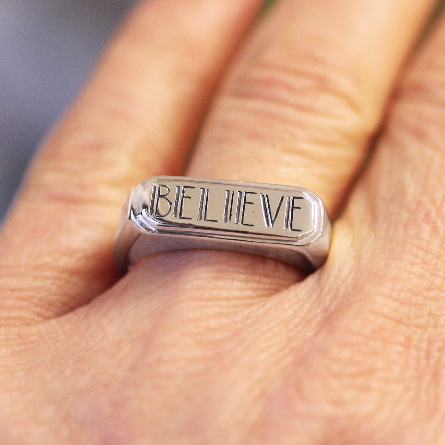 Believe Ring, size 7