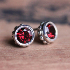 Handmade-Ethical-Red-Garnet-Bezel-Stud-Earrings-02