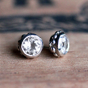 Handmade-Ethical-White-Topaz-Wrought-Stud-Earrings-03