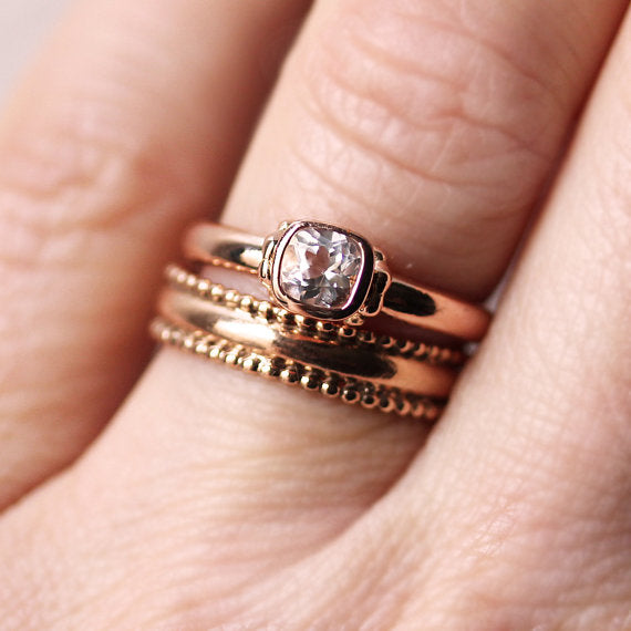 handmade-ethical-Rose-gold-engagement-ring-set-with-white-topaz-03