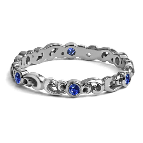 sapphire-eternity-band-white-gold