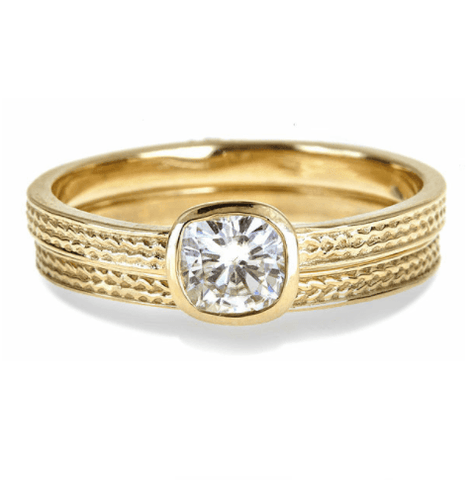 moissanite-engagement-rings-yellow-gold
