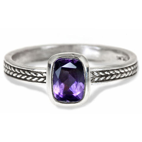 simple-bezel-amethyst-ring