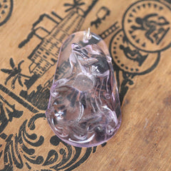 Amethyst Tiger Carving 5