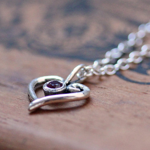 handmade-ethical-Sterling-Silver-Ruby-Swirl-Heart-Necklace-02