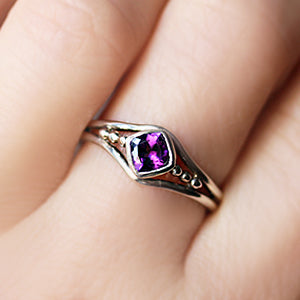 handmade-ethical-Sterling-Silver-Amethyst-Promise-Ring-03