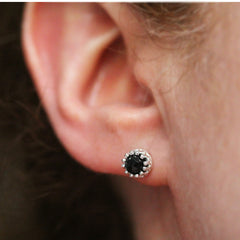 lace spinel earring 3