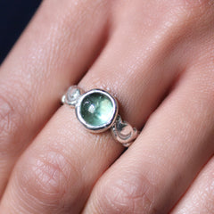 Tourmaline Cabochon Ring, you choose the stone!