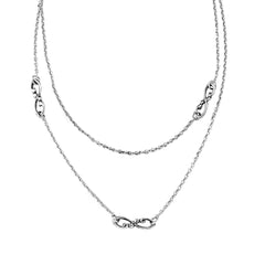 Infinity Station Necklace - Wrought