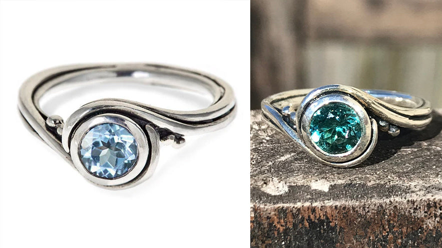 Use your own gemstone in Metalicious designs