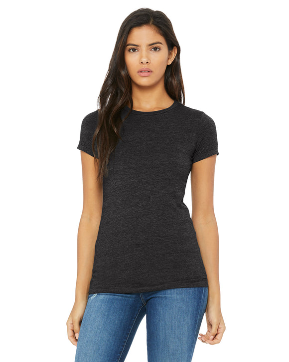 Drk Heather Grey Bella & Canvas T-Shirt
