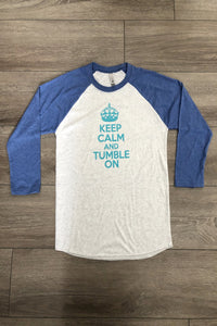 Keep Calm and Tumble On DIY Graphic