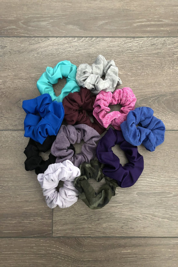 Soft & Cozy Handmade Scrunchies