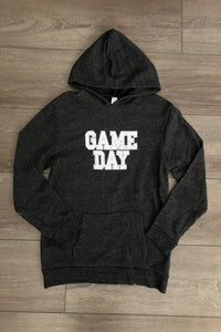 GAME DAY Youth Dark Grey Pullover Hoodie