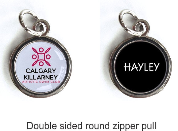 Double Sided Zipper Pull