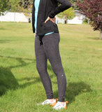 Charcoal Heather Everyday Leggings-YOUTH & ADULT SIZES!