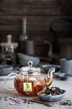 French Earl Grey with Rose Petals – Loose Leaf