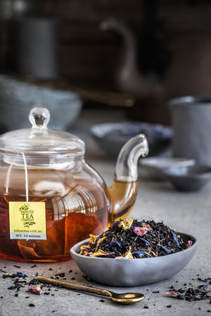French Earl Grey with Rose Petals – Pouches