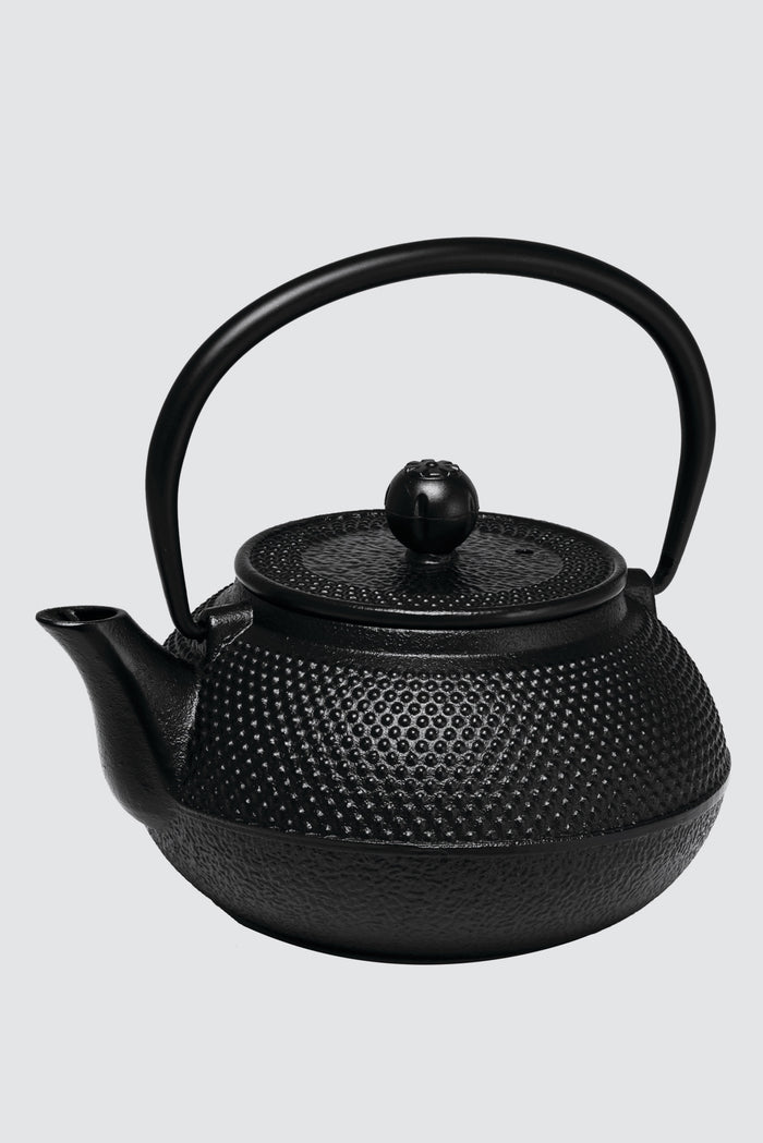 Hobnail Cast Iron Teapot Set