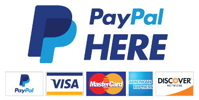 We use secure PayPal payments