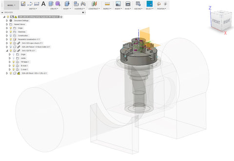 Fusion 360 and 5-axis and 3+2 axis machining – Spinny-Doo
