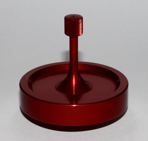 Spinny-Doo Precision Spinning Top SD20-CR in Crimson Red @ www.spinny-doo.com