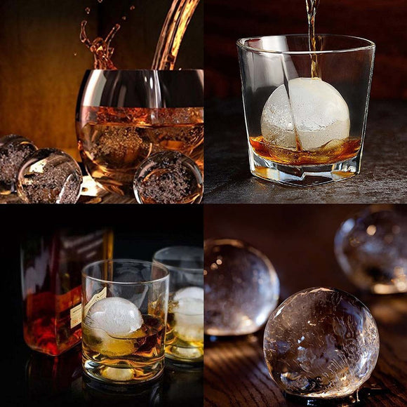 Whiskey Ice Ball Molding Tray