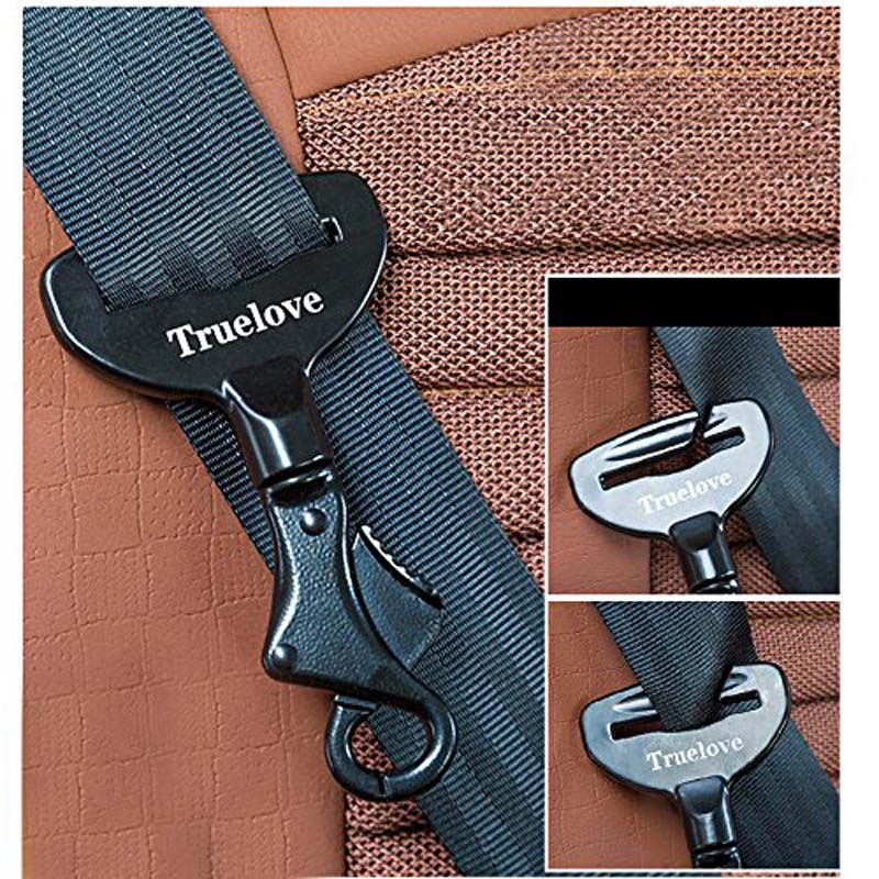 Pet Dog Seat Belt Lock Harness Collar Clip Safety Lightweight Durable Aluminium Alloy