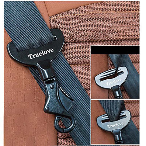 Image of Pet Dog Seat Belt Lock Harness Collar Clip Safety Lightweight Durable Aluminium Alloy