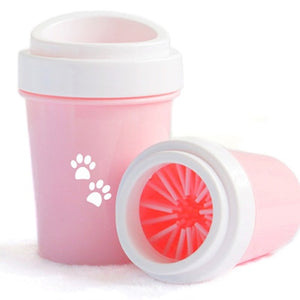 Dirty Dog paw cleaner Soft Silicone Combs Portable Pet Foot Washer Cup