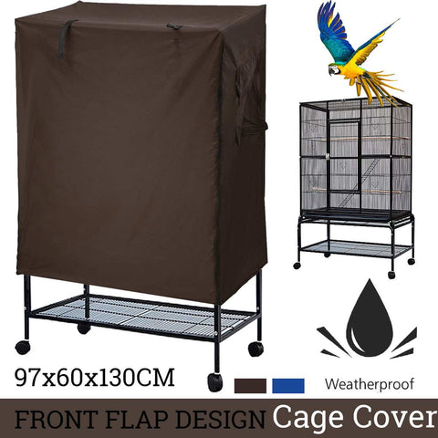 Image of Universal sunshade Bird Cage Cover Breathable dustproof Bird Parrot Nests Cover