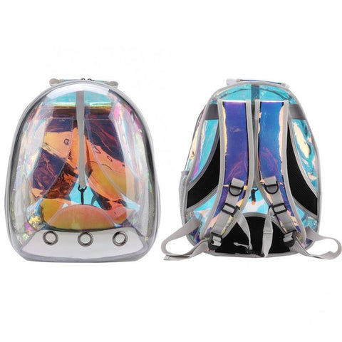 Image of WaterProof Pet Cat backpack Pet Carrier Bag Bubble Large Space Pet Carrier Backpack