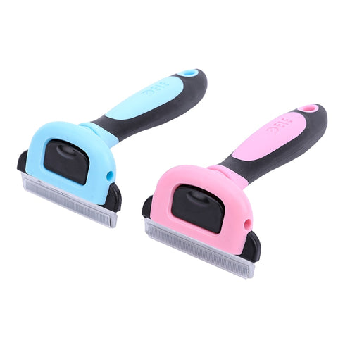 Detachable Pet Hair Slicker Comb Pet Deshedding Comb Cat Dematting Clipper Grooming Tool