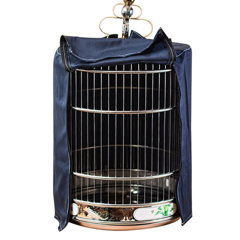 Image of Breathable Bird Parrot Nests Cover Cotton Bird Cage Light-proof Cover Universal Bird