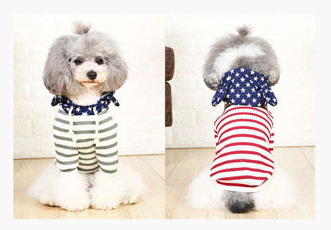 Image of Pet Dog Clothes Teddy Two Feet Clothing Dog Sweaters