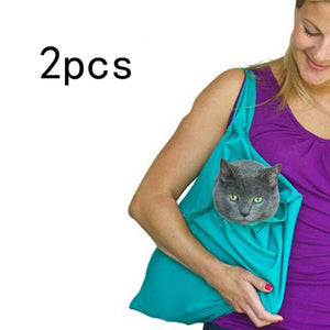 Cat Carrier Pack Soft Pet Bags Travel Pouch Multi-function Cat Sling Carrier Bag