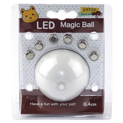 Image of USB Rechargeable Electric Rolling Ball Toys for Cats Interactive Laser Magic Ball Toy