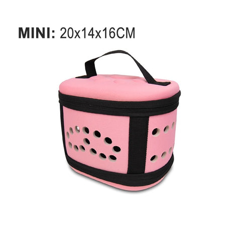 Image of Travel Pet Cat Carrier handbag Puppy Cat Carrying Outdoor Bags